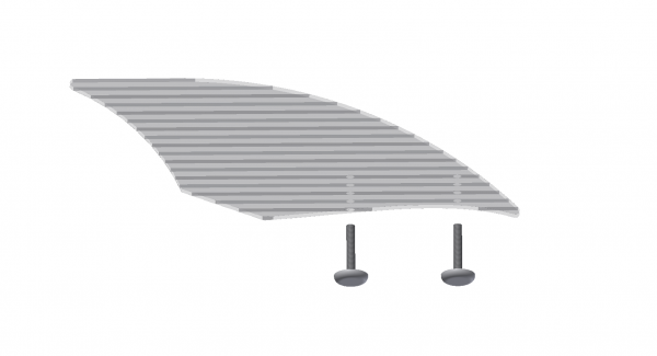 MiniRaceWing - Winglet & Screws