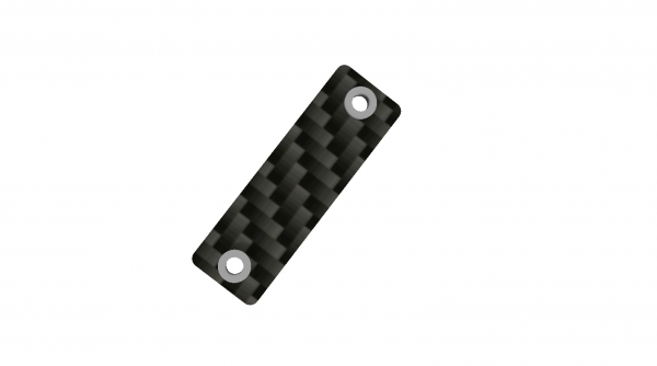 MiniRaceWing - Wing mount A (1,5mm carbon)