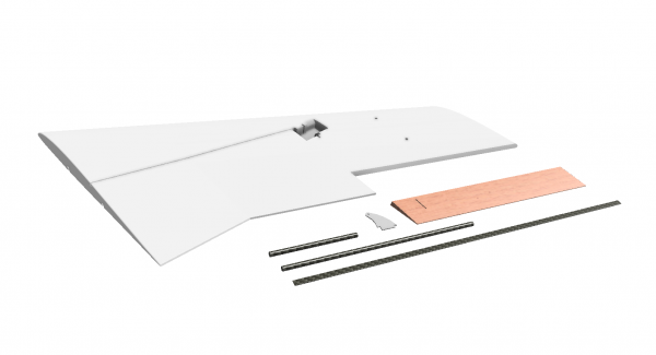 MiniRaceWing - Replacement Wing (right)