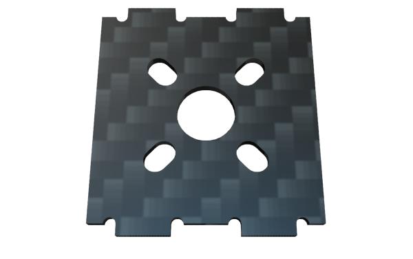 FLUX - Motorplatte